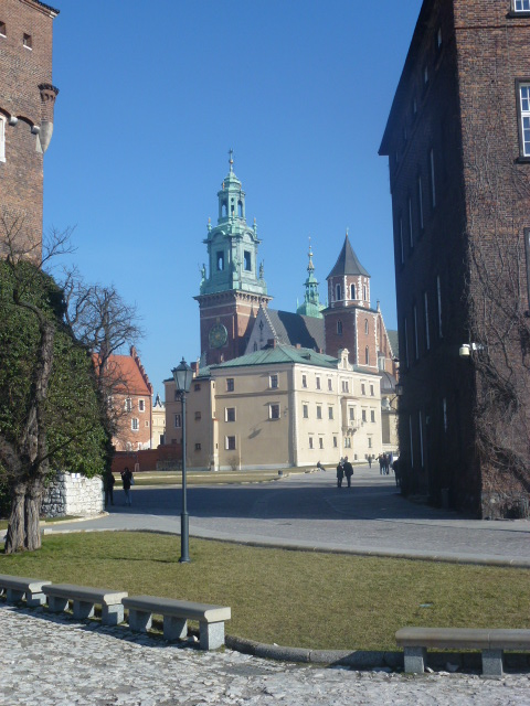 Wawel Cathedral and grounds.