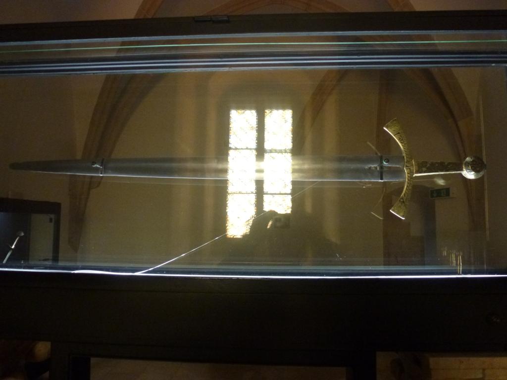Coronation sword.