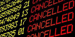 Image result for flight cancelled